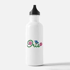 Iris Flowers Water Bottle