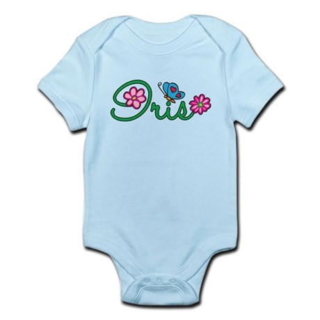 Iris Flowers Infant Bodysuit