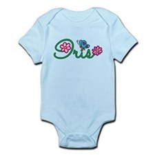 Iris Flowers Infant Bodysuit