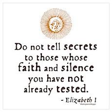 Elizabeth Trust Quote Poster