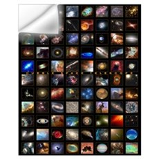 Hubble Space Telescope Wall Decal
