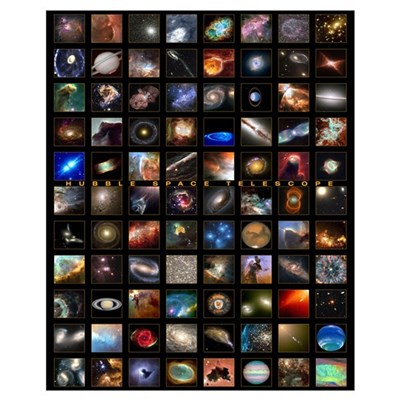 Hubble Space Telescope Canvas Art