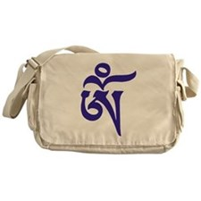 Tibetan Aum Messenger Bag