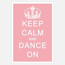 Keep Calm and Dance On (Blue)