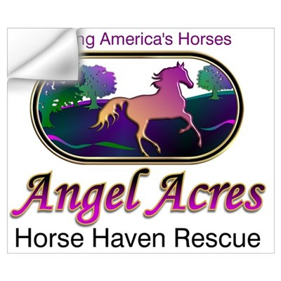 Angel Acres Horse Haven Rescue Wall Decal