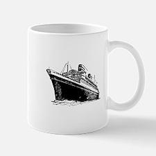 Ocean Liner Ship Mug