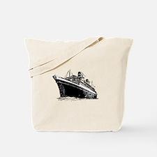 Ocean Liner Ship Tote Bag