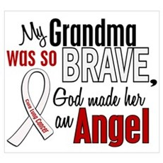 Angel 1 GRANDMA Lung Cancer Poster