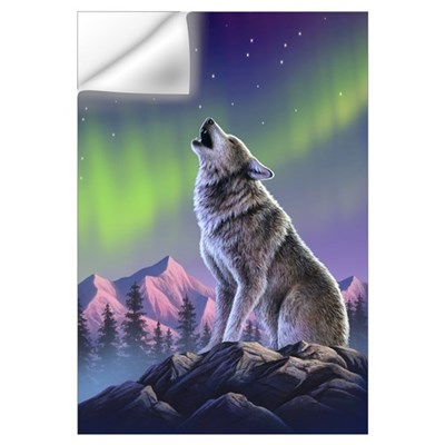 Howling Wolf 2 Wall Decal
