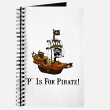 P Is For Pirate Journal