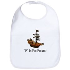 P Is For Pirate Bib