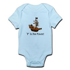 P Is For Pirate Onesie