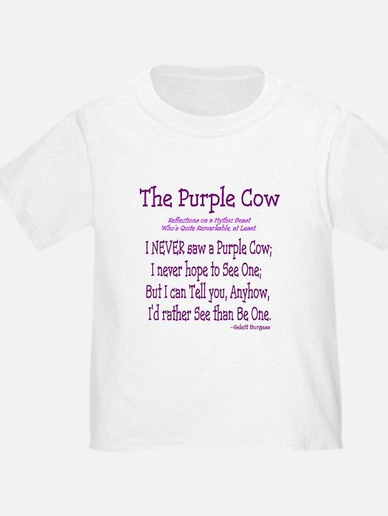 Purple Cow / Poem T