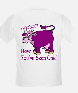 Purple Cow / Poem Kids T-Shirt