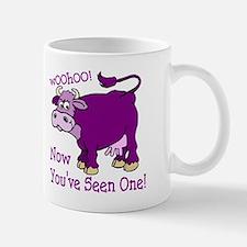 Purple Cow / Poem Mug