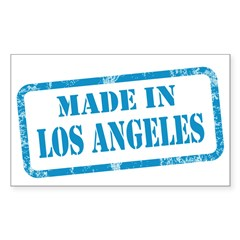MADE IN LOS ANGELES Decal