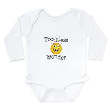 Toothless Wonder Long Sleeve Infant Bodysuit