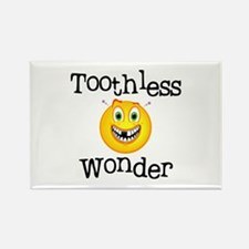 Toothless Wonder Rectangle Magnet