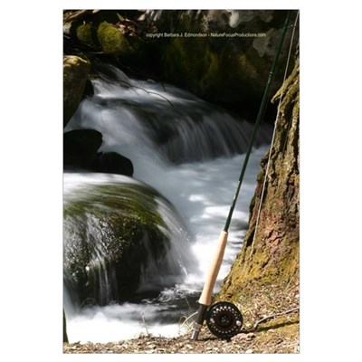 Fly Fishing Rod Canvas Art