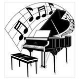 Piano Framed Prints