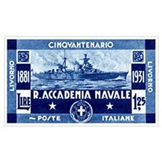 1931 Italian Naval Academy Poster