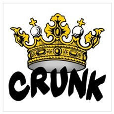 Crunk King Poster