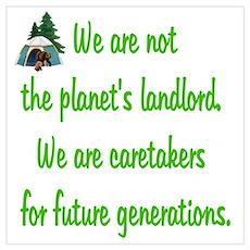 Earth's Caretaker Poster