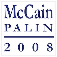 Palin McCain Poster