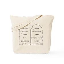 Ten Condiments Tote Bag