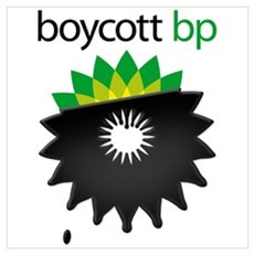 boycott bp Framed Print