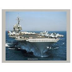 USS Kitty Hawk (CV 63) Poster