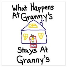 Granny's House Poster