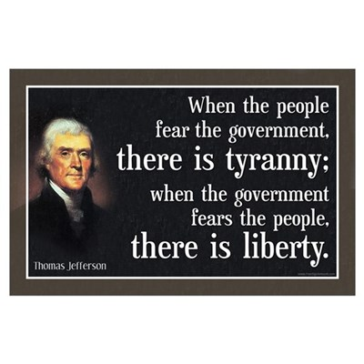 Jefferson: Liberty vs. Tyranny Poster