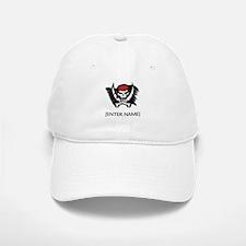 Pirate Flag Personalize! Baseball Baseball Cap