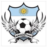 Argentina world cup soccer Posters