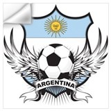 Argentina world cup soccer Wall Decals