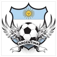 Argentina world cup soccer Poster