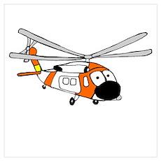 HH-60 Coast Guard Poster