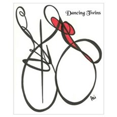 Dancing Twins Poster