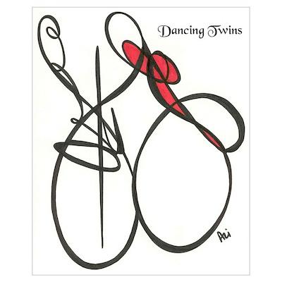 Dancing Twins Poster