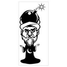 Muhammad Cartoon Poster