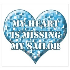 My heart is missing my sailor Poster