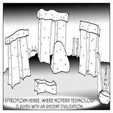 Styrofoam Henge Poster
