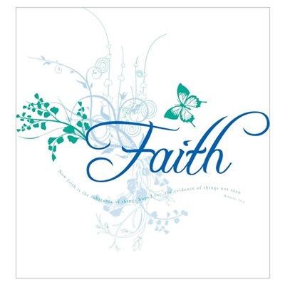 Faith Canvas Art