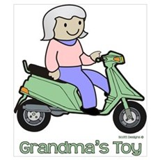 Grandma's Toy Canvas Art