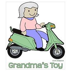 Grandma's Toy Poster
