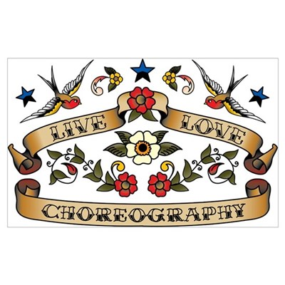 Live Love Choreography Poster