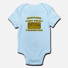 Maryland State Police Infant Bodysuit