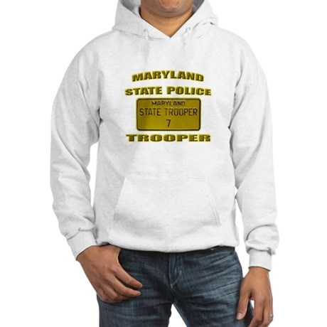 Maryland State Police Hooded Sweatshirt