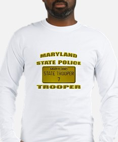 Maryland State Police Long Sleeve T-Shirt